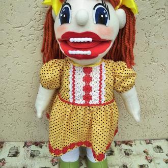 Варя логопедическая кукла