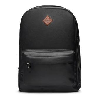 Рюкзак черный из экокожи