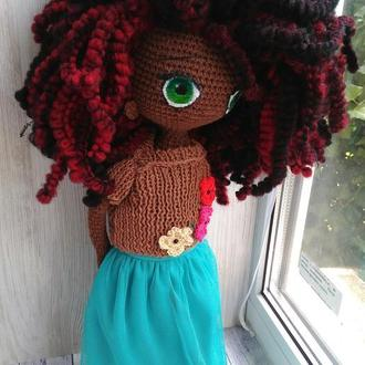 Лялька амігурумі. ДаМа Кейт