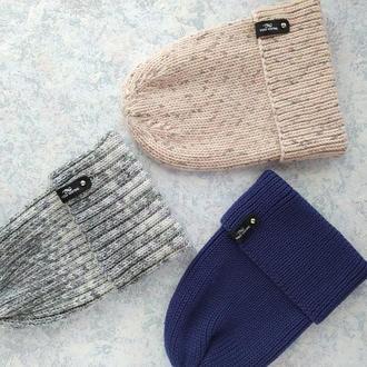 Вязанные шапки