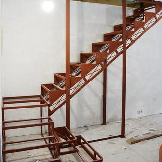 """Каркас лестницы на второй этаж.""""Броневик"""" Днепр"""