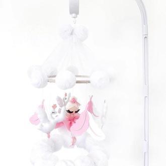 Мобиль в кроватку «Балерина»
