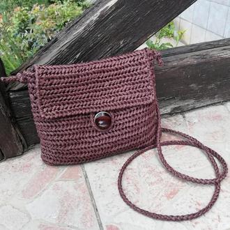 Клатч-сумка из рафии
