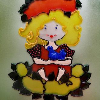 Витражная картина в детскую комнату