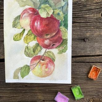 Яблочная гроздь