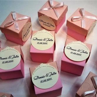 Бонбоньєрки на ваше свято. Подарунки для гостей.