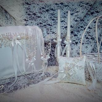 Розкішний весільний набір