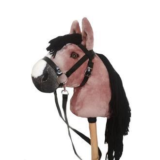 Лошадка на палочке со съемной уздечкой Лошадка на палочке Игрушечный конь