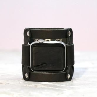 Кожаный ремешок для Apple Watch, код 1085
