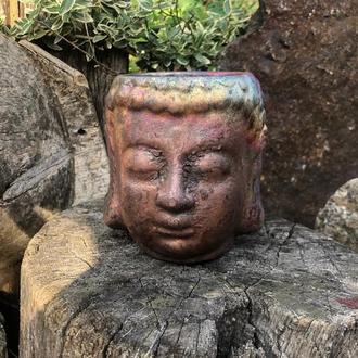 """Керамический стакан """"Голова Будды"""""""