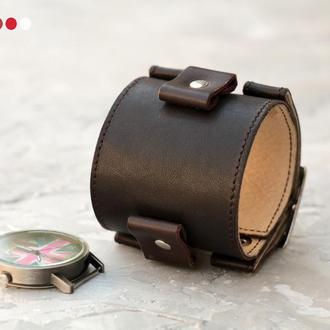 Часовой браслет Джонни Деппа, прошитый, код 6000ст