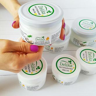 Кокосовое масло нерафинированное, кокосовое масло для волос, для лица. Можно использовать в пищу!