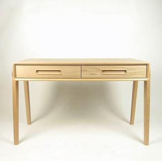 Письменный стол натуральное дерево (бук)