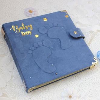 Бебибук для мальчика , фотоальбом для мальчика , мамин дневник