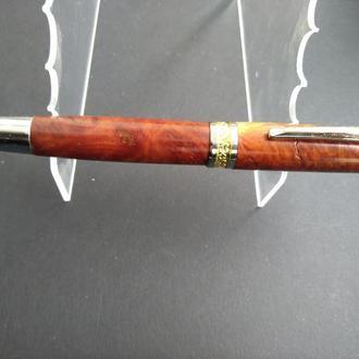 Ручка перьевая  Малиновая