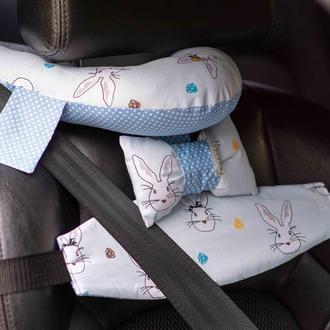лучший детский дорожный комплект, автоподушка, держатель головы, детский ремень безопасности