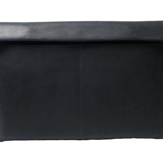 Чехол для МакБук из натуральной кожи. 03009/черный