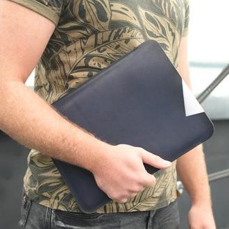 Кожаный чехол для MacBook, Кожаный чехол для любой модели ноутбука, Кожаный чехол для ультрабука