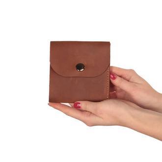 Кожаный кошелек Wallet - pocket size