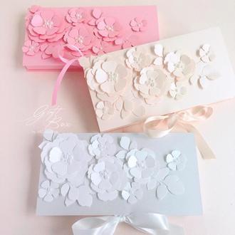 "Gift Box ""Blossom""  Цвет 3 (розовый)"