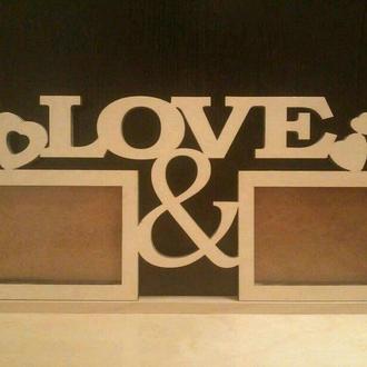 "Фоторамка ""Love"""
