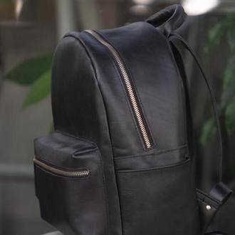 Кожаный рюкзак (унисекс).