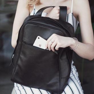 Рюкзак из натуральной кожи,  сборка. Handcrafted Backpack