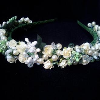 Свадебный обруч Нежность