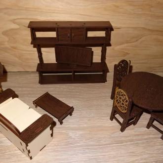 """Набор мебели для кукол """"Гостиная"""""""
