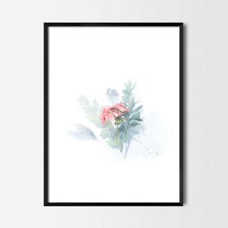 Фотопостер Акварельные цветы №2