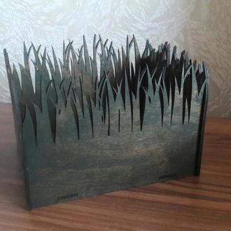 Декоративное кашпо «Трава»