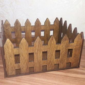 Кашпо «Забор»
