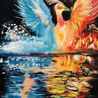 №22 Рожденье птицы счастья из воды и огня