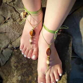 Barefoot Sandals Прикраса для Ніг Бохо