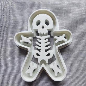 Пресс-форма для печенья(пряника) Скелет человечка , шт