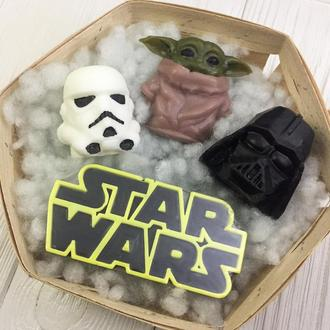 """Подарунковий набір авторського мила """"Star Wars"""""""