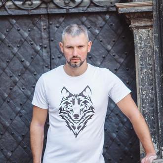 Футболка мужская «волк» batiar XXL