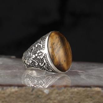 Турецкий перстень ювелирный для мужчин