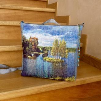 Текстильная сумка «Удивительное лето»