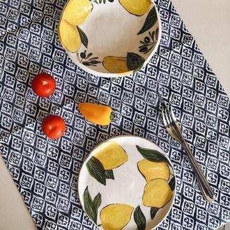 Блюдо для подачи закусок Лимон