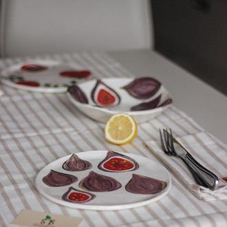Блюдо для подачи закусок Инжир