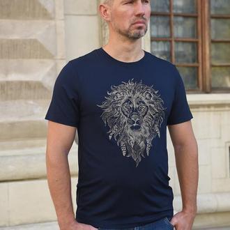 Футболка мужская «лев» batiar