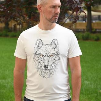 Футболка мужская «волк» batiar