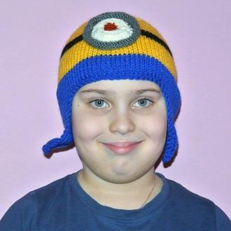 Детская шапка Миньон