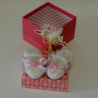 Пинетки для маленькой золушки в подарочной коробке