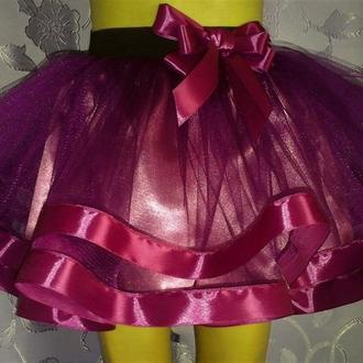 Детская юбка на резинке, модель № 69