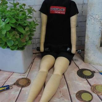 Спортсмен портретная кукла