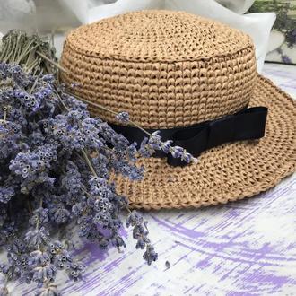 Шляпка «Канотье»