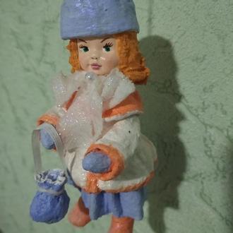 Коллекционные куклы, игрушки на елку, подарки