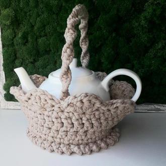 Корзинка утеплитель для чайничка